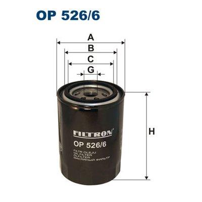 Filtr oleju FILTRON OP526/6 W94066