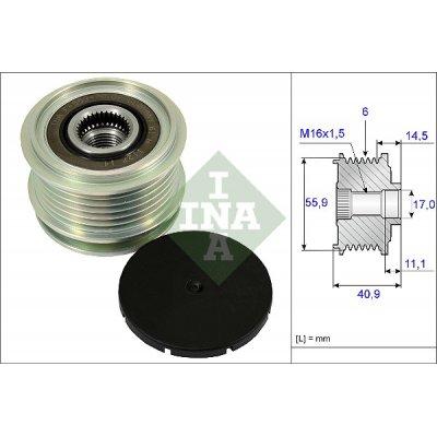 Sprzęgło alternatora INA 535001210 021903119G
