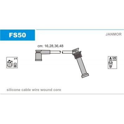 Przewody zapłonowe JANMOR FS50