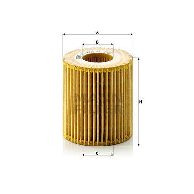 Filtr oleju MANN-FILTER HU815/2X HU8152X