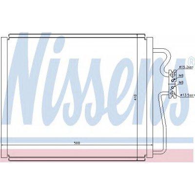 Chłodnica klimatyzacji NISSENS 94528