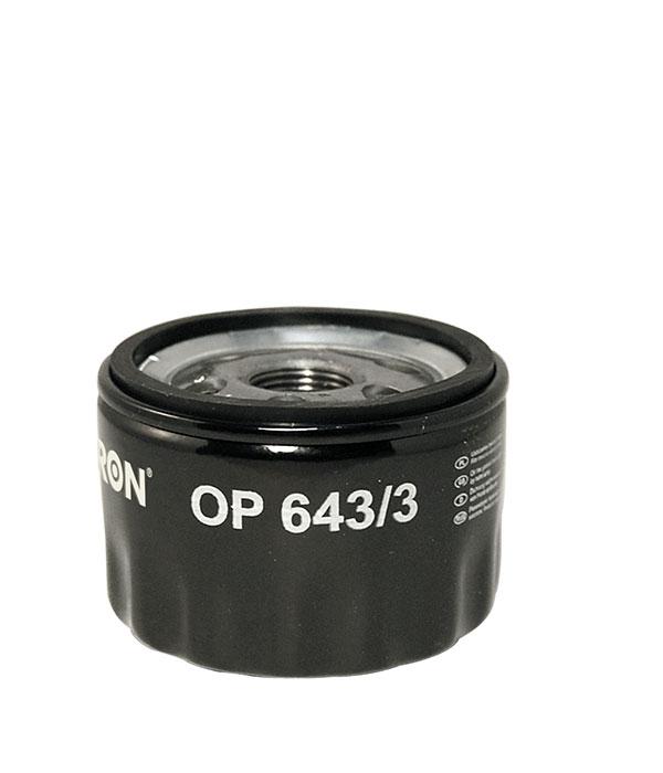 Filtr oleju FILTRON OP643/3 W753