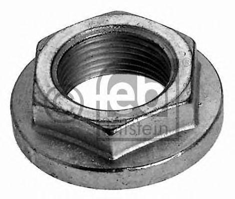 Wheel Hub Nut fits BMW M3 E30 2.5 Rear 90 to 92 33411125664 Febi Quality New